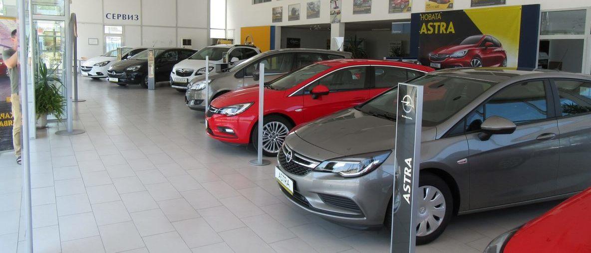 Автомобили Opel на лизинг в салона на Олимпиа Ауто Сливен