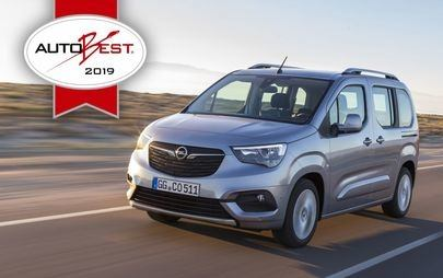 "AUTOBEST - Opel Combo Life е ""Best Buy Car of Europe 2019"""